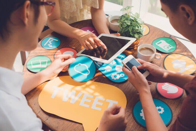 elegir red social para negocio