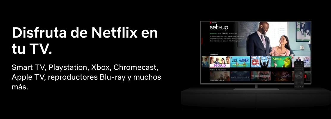 Ejemplo de copy: Netflix.