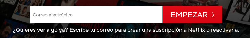 Ejemplo de CTA llamativo: Netflix