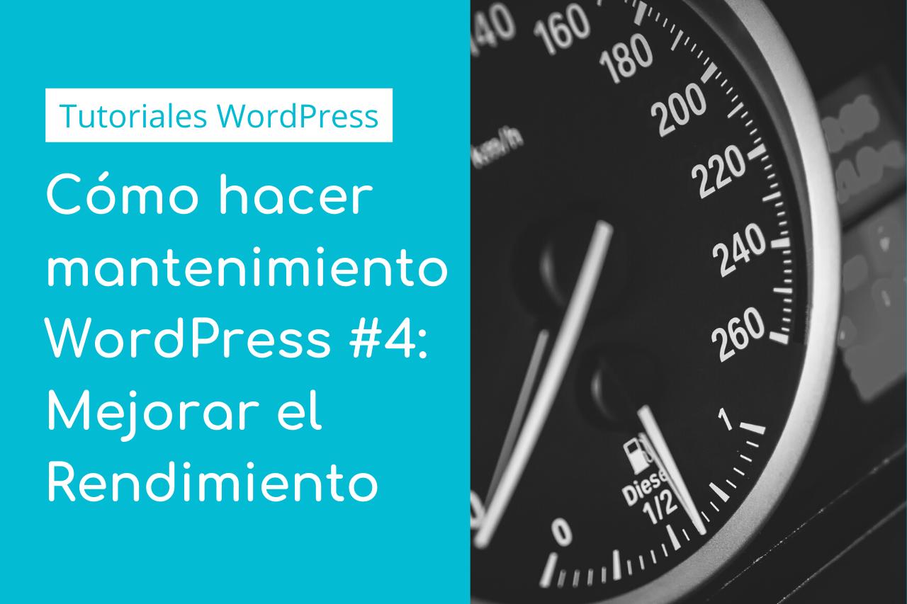 Rendimiento WordPress